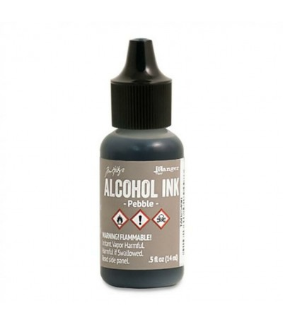 Alcohol Ink Pebble - Tim Holtz
