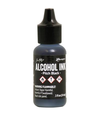 Alcohol Ink Pitch Black - Tim Holtz