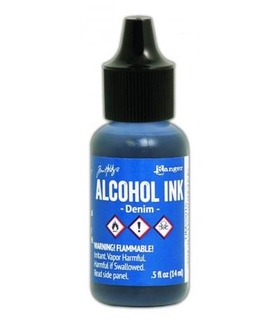 Alcohol Ink Denim - Tim Holtz