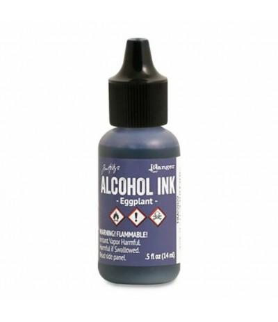 Alcohol Ink Eggplant - Tim Holtz