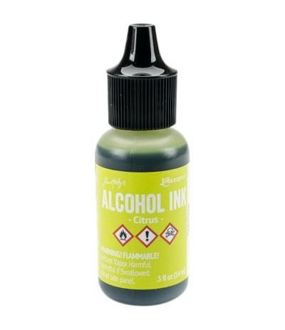 Alcohol Ink Citrus - Tim Holtz