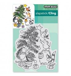 Clingstempel Timming Time - Penny Black
