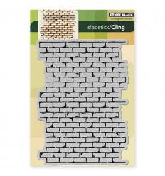 Cling Stempel Brick Wall - Penny Balck