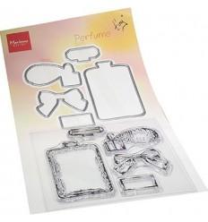Stanzschablonen und Stempel Set Parfüm - Marianne Design