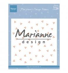 Prägeschablone Marjoleine's dots - Marianne Design
