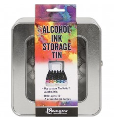 Alcohol Ink Storage Tin - Tim Holtz