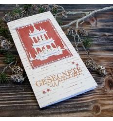 Stanzschablonen Weihnachtspyramide - Charlie & Paulchen