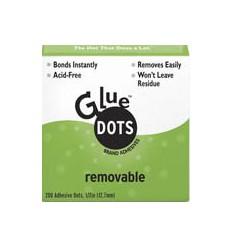 Glue Dots  wiederablösbar Box, 13mm