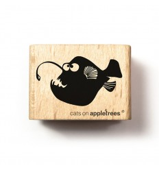 Stempel Anglerfisch Axel - cats on appletrees
