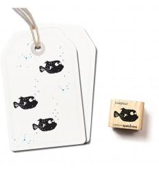 Stempel Kofferfisch Gottfried - klein - cats on appletrees
