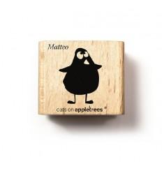 Stempel Küken Matteo (stehend) - cats on appletrees