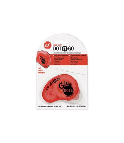 Glue Dots Dot n go Craft Abroller