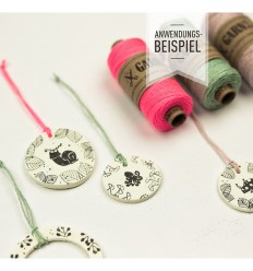 Stempel Schnecke Ermelind - cats on appletrees