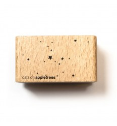 Stempel Sternenwolke - cats on appletrees