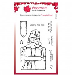 Clear Stamps Cnome Gift - Woodware