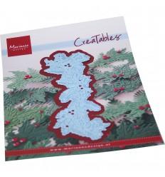 Stanzschablone Christmas garland - Marianne Design