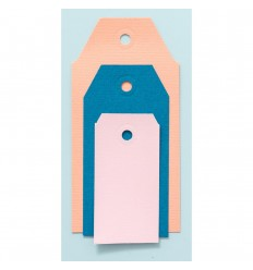 Motivstanzer 3-in-1 Tags - We R Memory Keepers