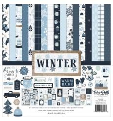"Scrapbooking Papier Winter, 12x12"" - Echo Park"