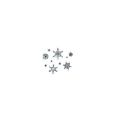 Schneeflocken Stempel