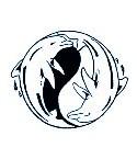 Stempel Delfin Ying Yang