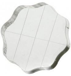 """bloc acrylique pour tampon 2 1/2"""""""