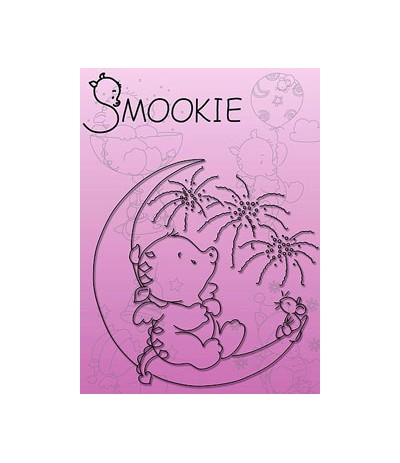 Nellie Snellen Smookie auf dem Mond Clear Stamps