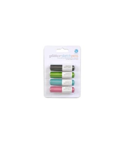 Silhouette Glitter Sketch Pens