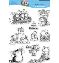 Penny Black Clear Stamps Christmas Critters ***