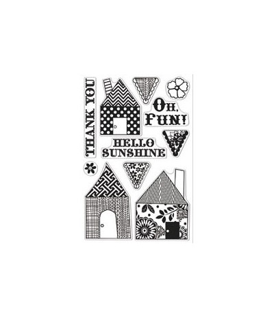 Hero Arts Clear Stamps Homey Patterns