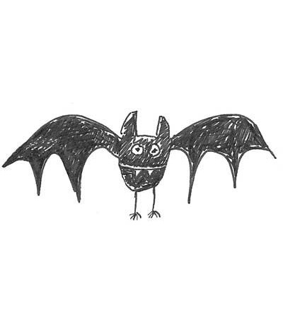 "Stampotique Stempel ""Batty"""