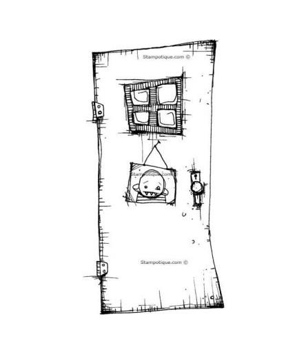 """Stampotique Stempel """"Picture Door"""""""