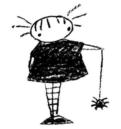 "Stampotique Stempel ""Spider Girl"""