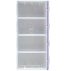Box de rangement avec 4 cases