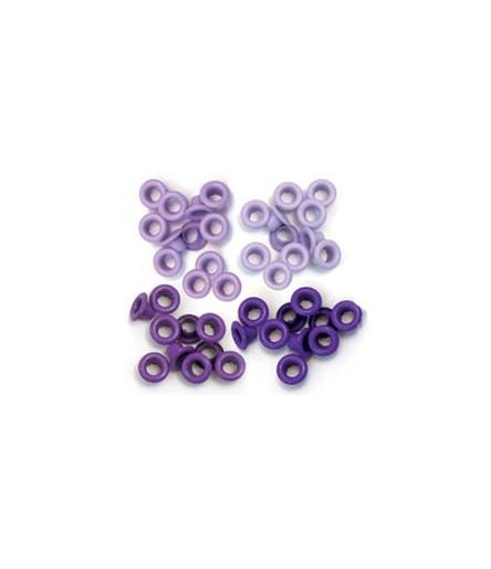 WeR Eyelets Purple