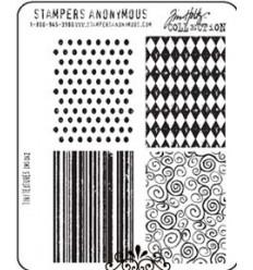 Tim Holtz Cling Stempel Tiny Textures