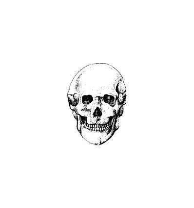 Totenkopf Stempel