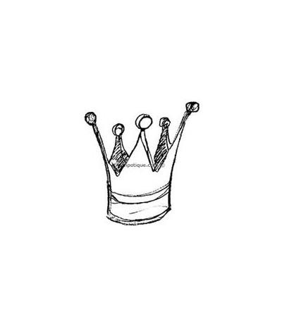 Stampotique Stempel Krone