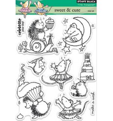 Penny Black Clear Stamps sweet & cute