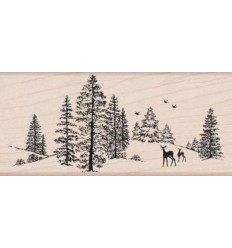 Winter Szene Stempel Hero Arts