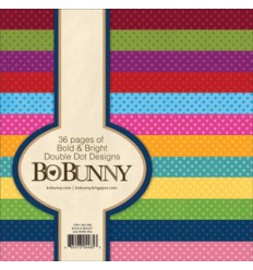 Bo Bunny Double Dot Designs 6x6 Bold & Bright