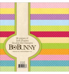 Bo Bunny Double Dot Designs 6x6 Soft Shades