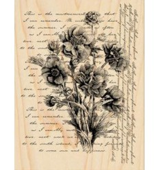 Words like flowers Stempel