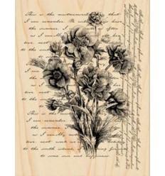 Words like flowers Stempel