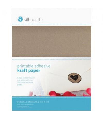 Bedruckbares Selbstklebendes Kraftpapier - Silhouette
