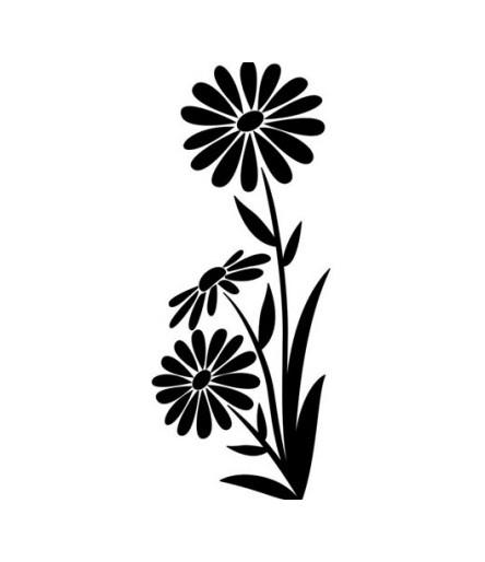 Darice Prägeschablone / Embossingfolder Large Daisy
