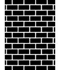 Darice Prägeschablone / Embossingfolder Brick Pattern