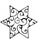 Swirl Stern Stempel