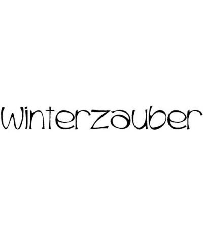 Winterzauber Holzstempel