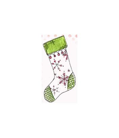 Jofy Mini Stempel Weihnachtssocke
