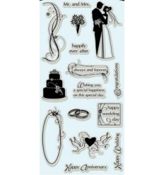 Clear Stamps Wedding